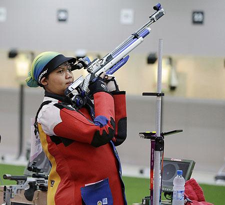 Malaysian shooter Nur Suryani Mohamed Taibi