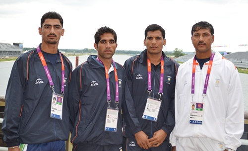 Indian rowers