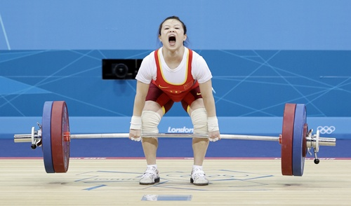 Mingjuang won another gold for China