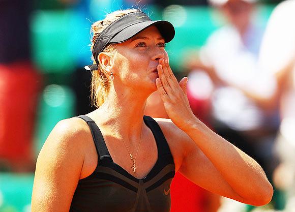 Sharapova still in hunt for title