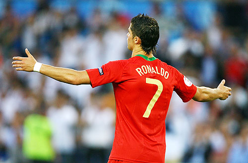 Cristiano Ronaldo of Portugal
