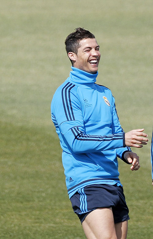'People put a lot of pressure on Cristiano'