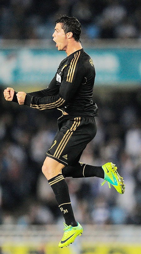 Cristiano Ronaldo, a goal-machine