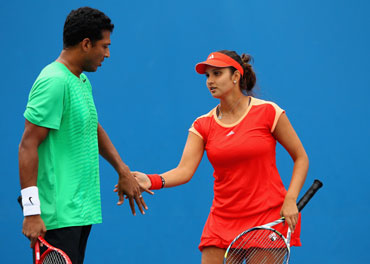 Bhupathi and Mirza
