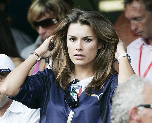 Alena Seredova, girlfriend of Italy