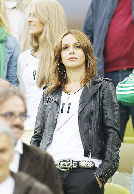 Hottest WAGS of Euro 2012