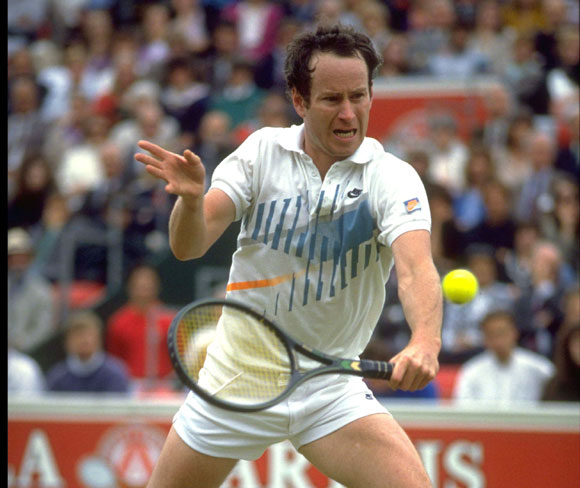 McEnroe played in 109 finals, winning 77 of them