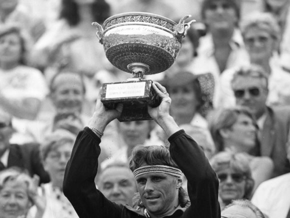 Borg won 64 times in eight years
