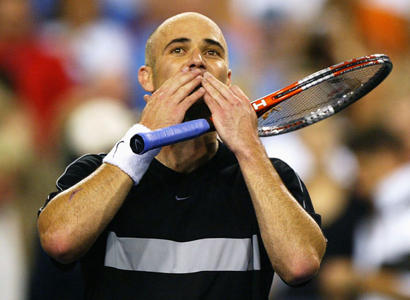 Agassi won 60 singles titles