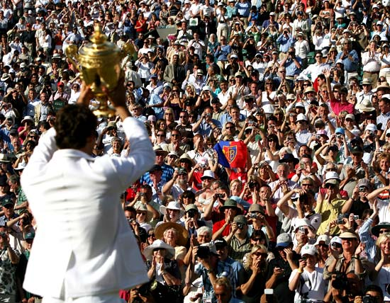 'Wimbledon actually helped the London bid get the Olympics'