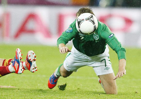 Ireland's Aiden McGeady