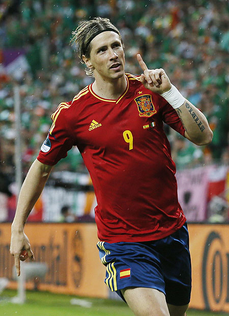 Spain's Torres on road to redemption
