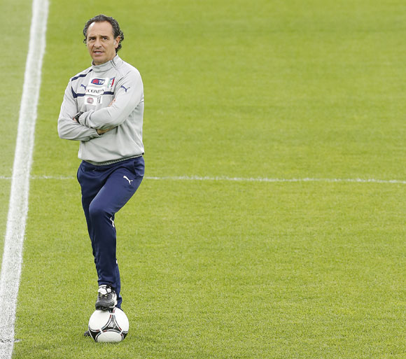 'There is a lot of respect for Prandelli because of how he talks to us'