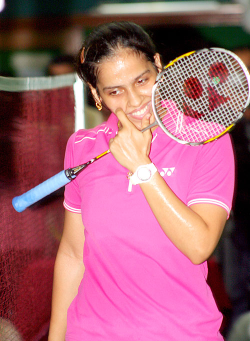 Saina raises Olympic medal hopes
