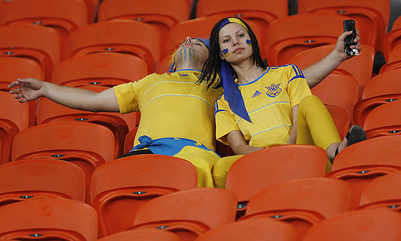 Fan zone: Agony and Ecstasy at Euro 2012