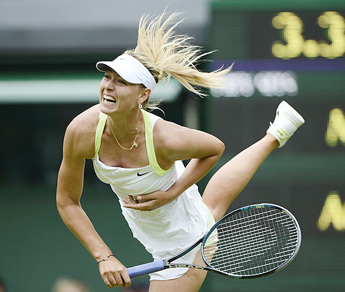 Sharapova makes short work of Rodionova