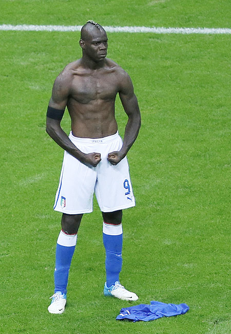 Italy's Mario Balotelli