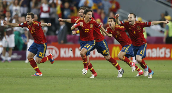 Spain's success has been built on impressive possession football
