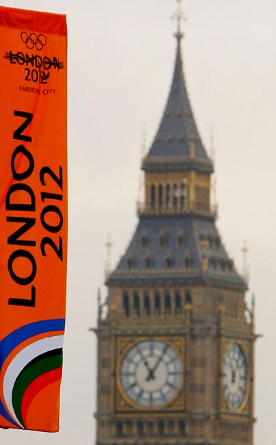 London will be the first city to stage the Games three times