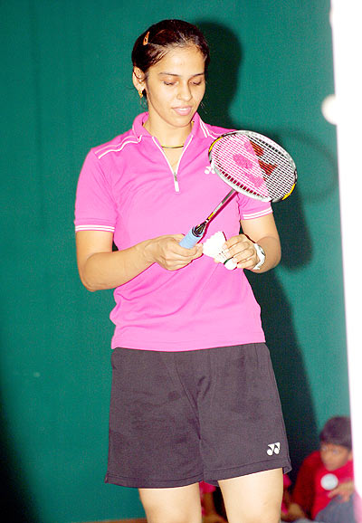Draw seems to favour Saina