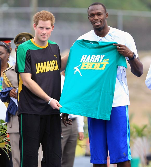 'Harry can Bolt'