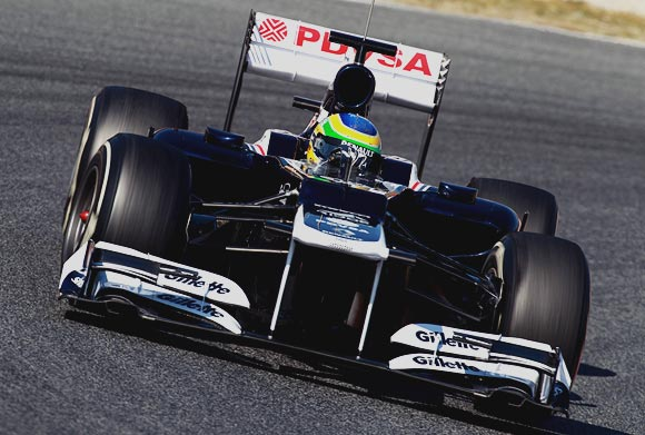 Williams F1 driver Bruno Senna