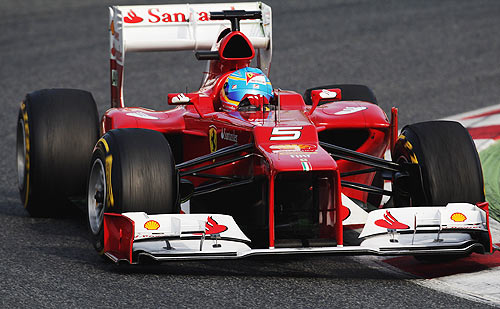 Uphill battle for Ferrari