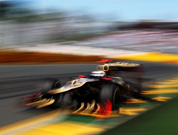 Lotus F1 driver Kimi Raikkonen