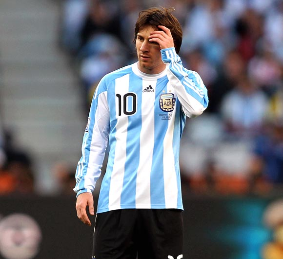 Winning over fans in his home country has been harder work for Messi