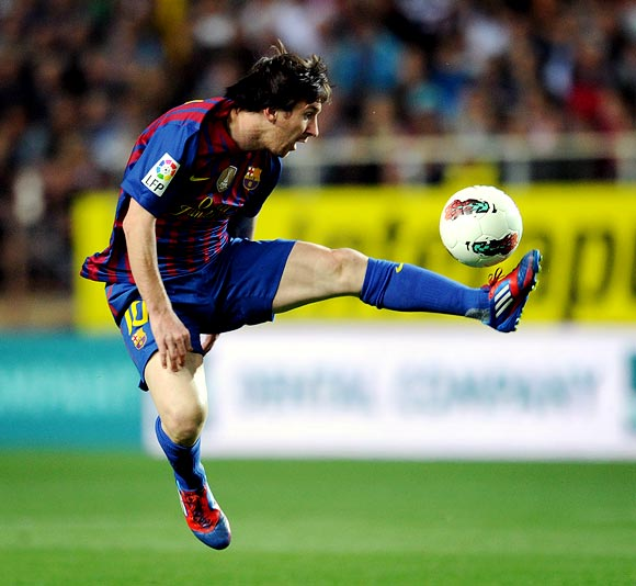 Messi is on course to emulate Alfredo di Stefano