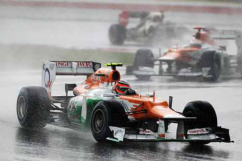 Malaysian GP: Force India bag 8 points
