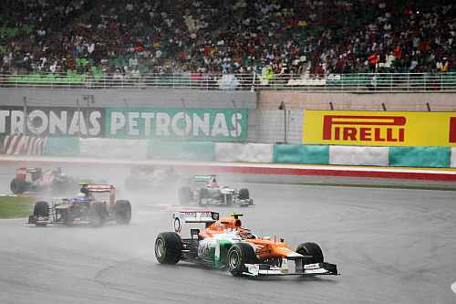 Good result for Force India