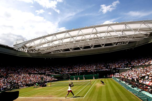 'It's a beautiful thing that it's being held at Wimbledon'