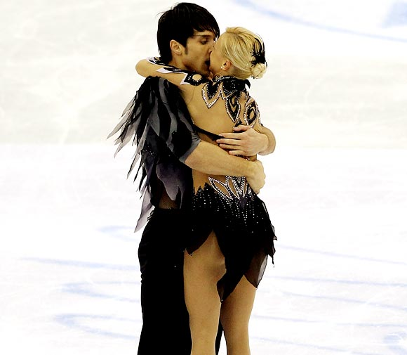 Maxim Trankov and Tatiana VolosozharMaxim Trankov