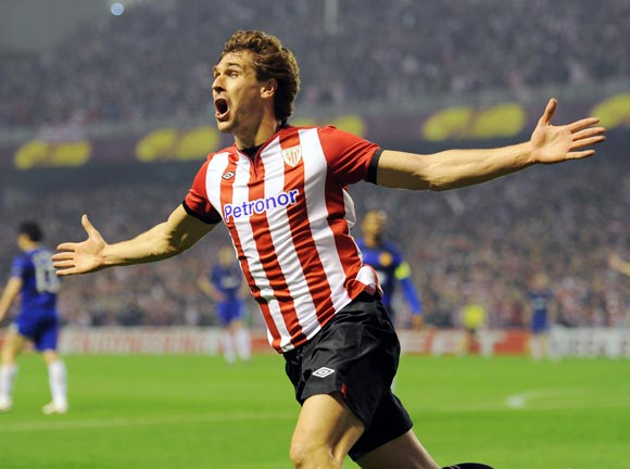 Athletic Bilbao striker Fernando Llorente