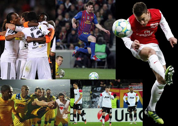 The best moments of the Champions League