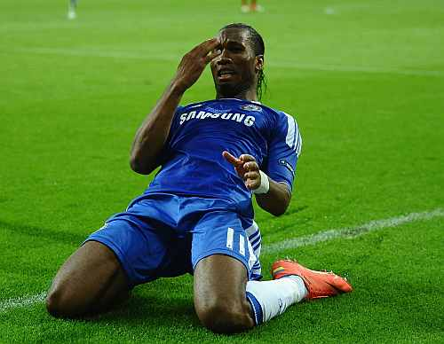Drogba, man of the moment for Chelsea