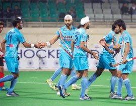 Indian hockey players