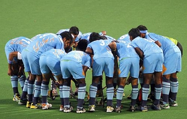 The Indian hockey team