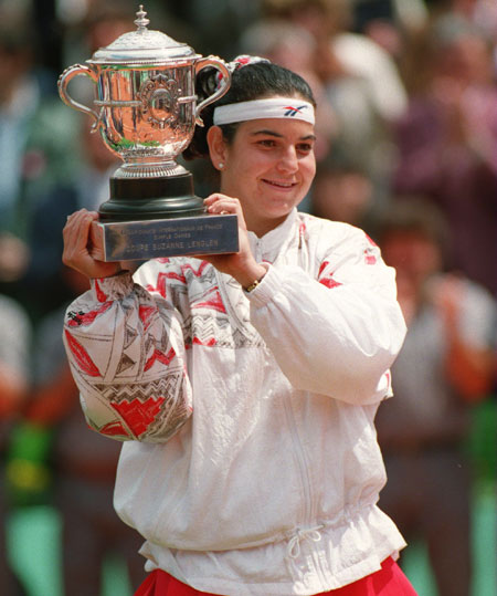 Sanchez Vicario was dominant in 1994