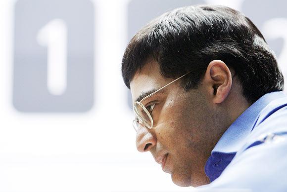 World chess defending champion Viswanathan Anand