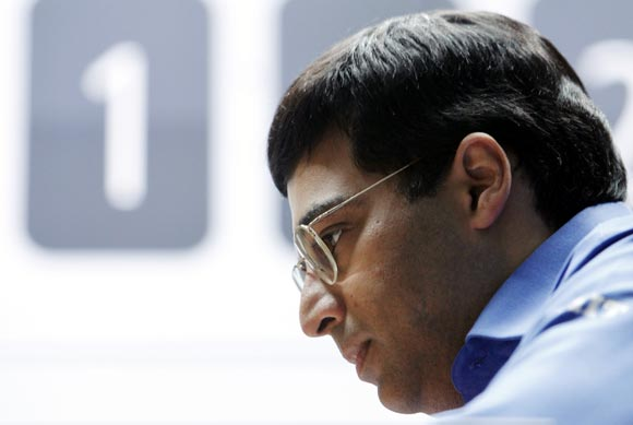 Anand won the second game in the tie-breaker