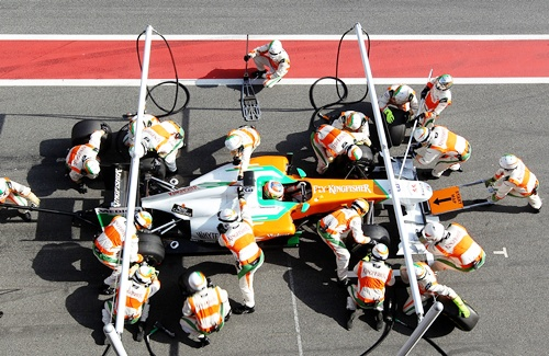 Force India car