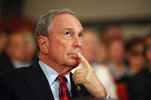 Michael Bloomberg believes in taking risks.