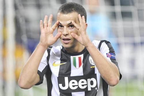 Juventus' Sebastian Giovinco
