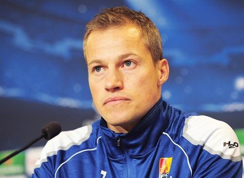 FC Nordsjaelland player Nicolai Stokholm