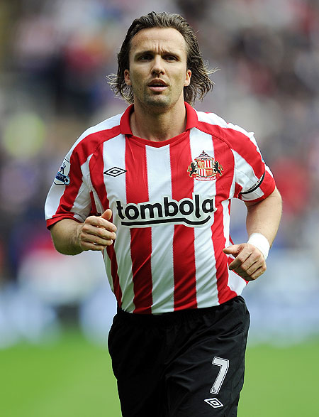 Boudewijn Zenden while playing for Sunderland