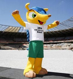 Brazil WC mascot Fuleco