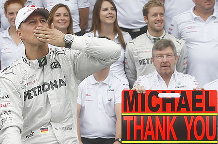 Micheal Schumacher