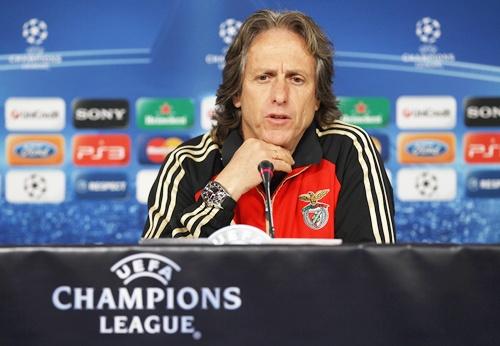 Jorge Jesus, coach of Benfica